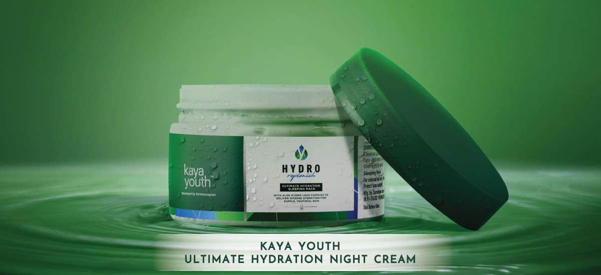 benefits of moisturizing night cream