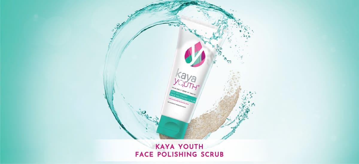 how to use kaya face scrub