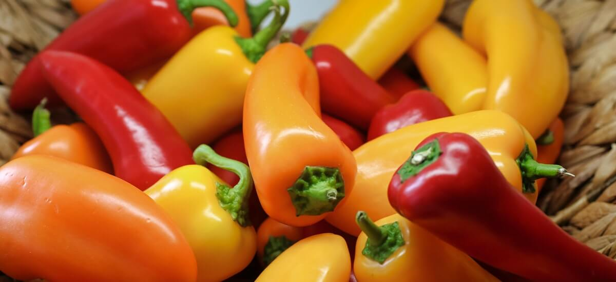 collagen food - Bell peppers