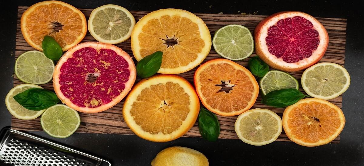 Citrus fruits are collagen rich food