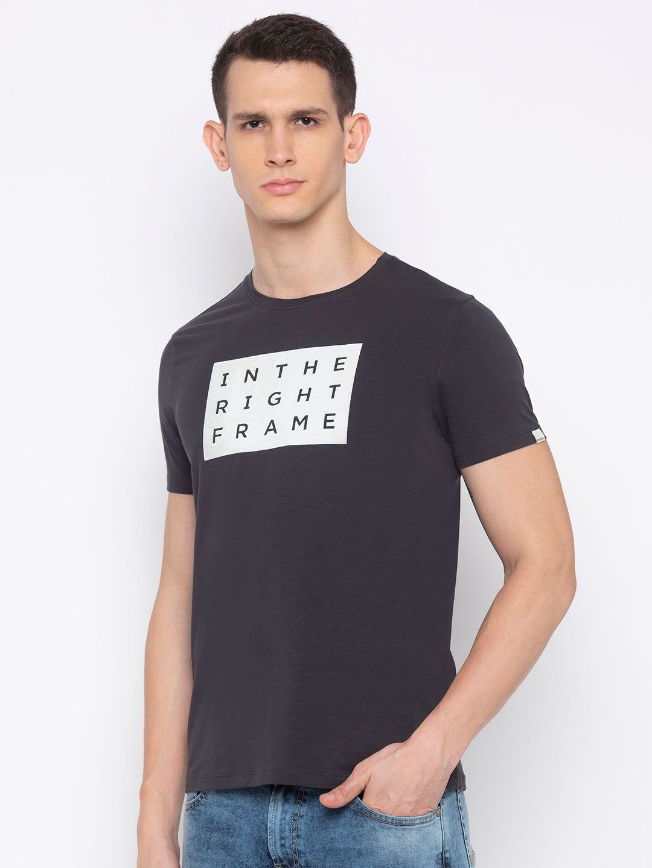 Charcoal Printed T-Shirt