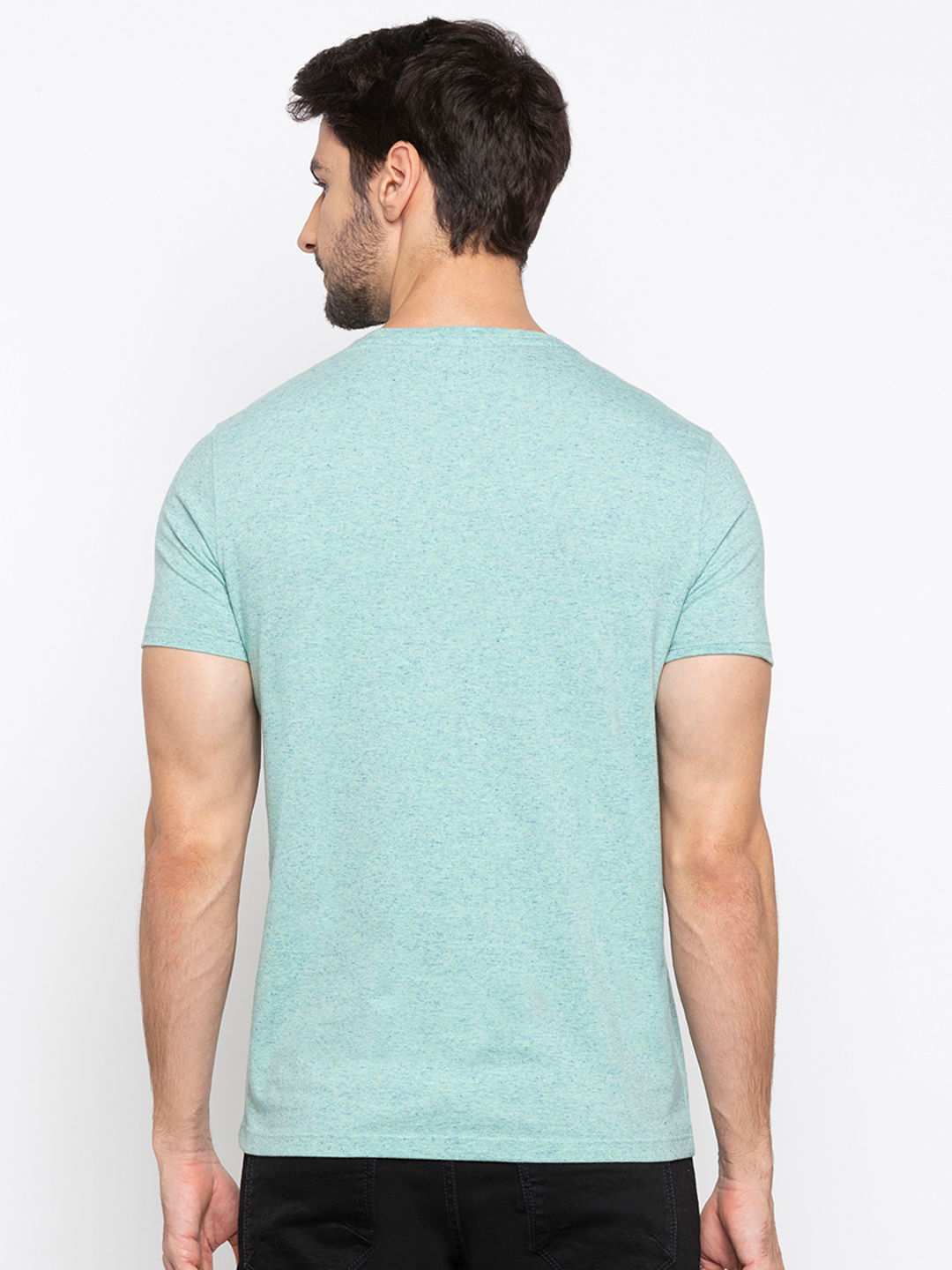 Mint Green Printed T-Shirt