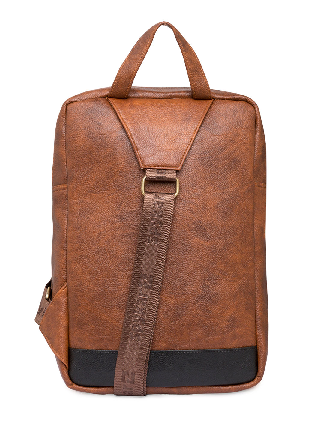 Spykar Tan Polyester Backpack