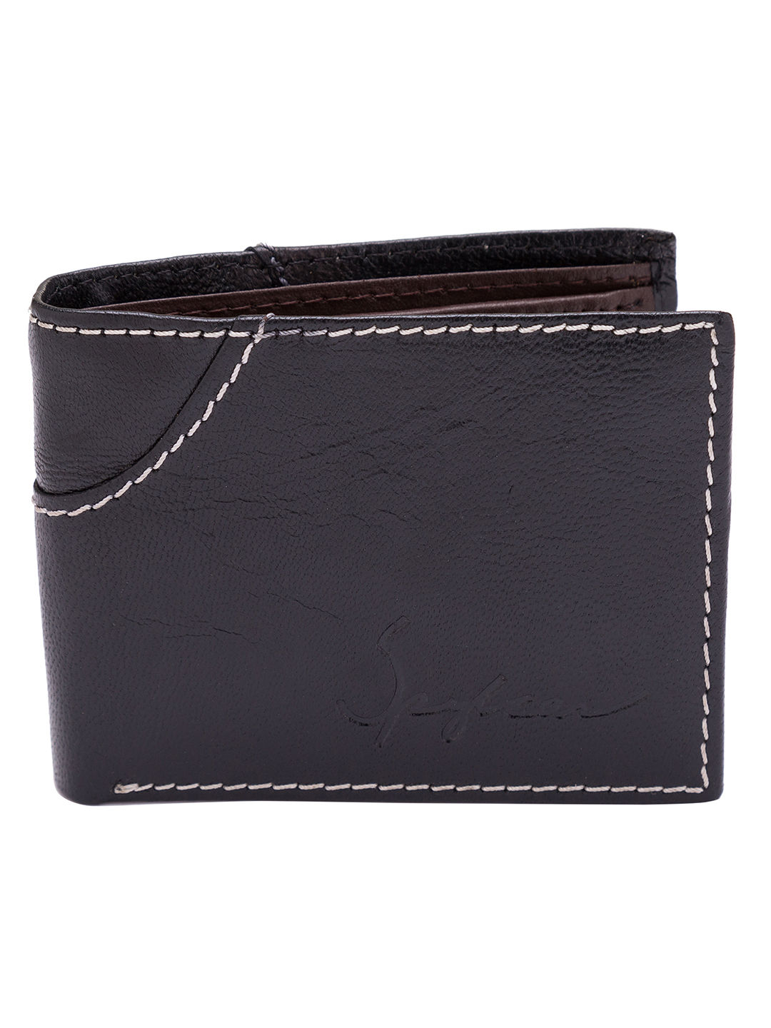 Spykar Leather Black Wallets