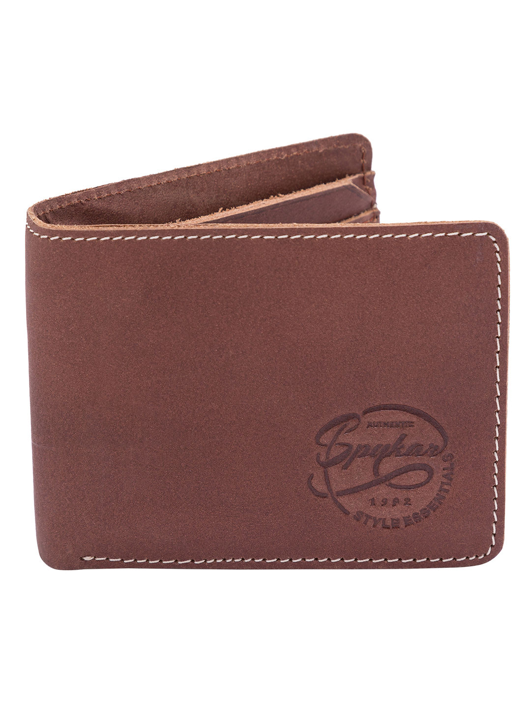 Spykar Leather Brown Wallets
