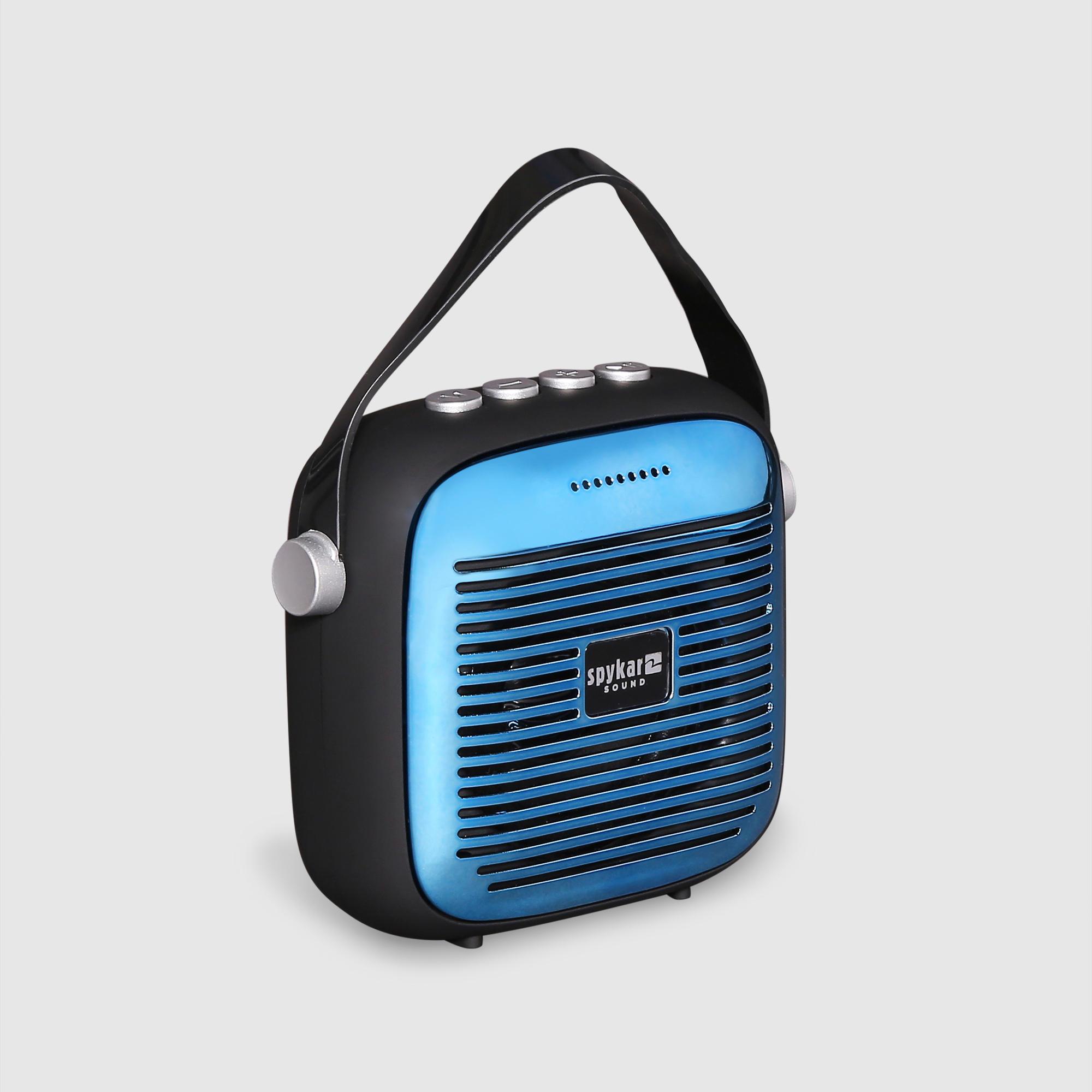 Spykar Blue Black Speaker