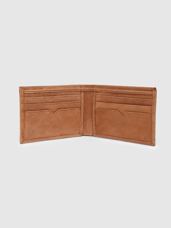 Spykar Leather Brown Wallets