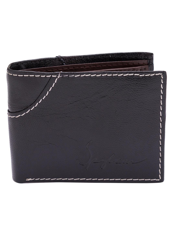 Spykar Leather Black Wallets