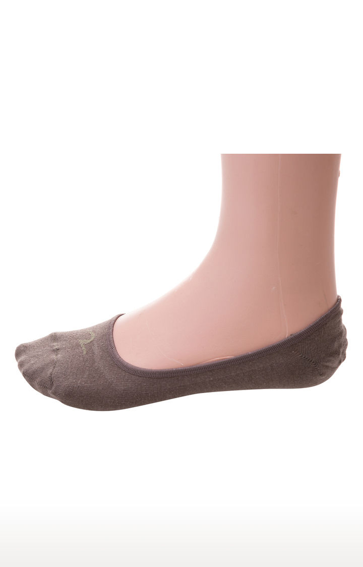 Beige and Brown Solid Socks - Pack of 2