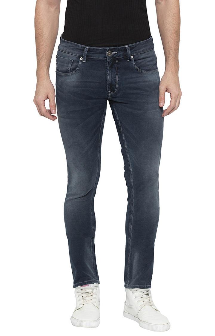 Dark Indigo Solid Super Skinny Fit Jeans