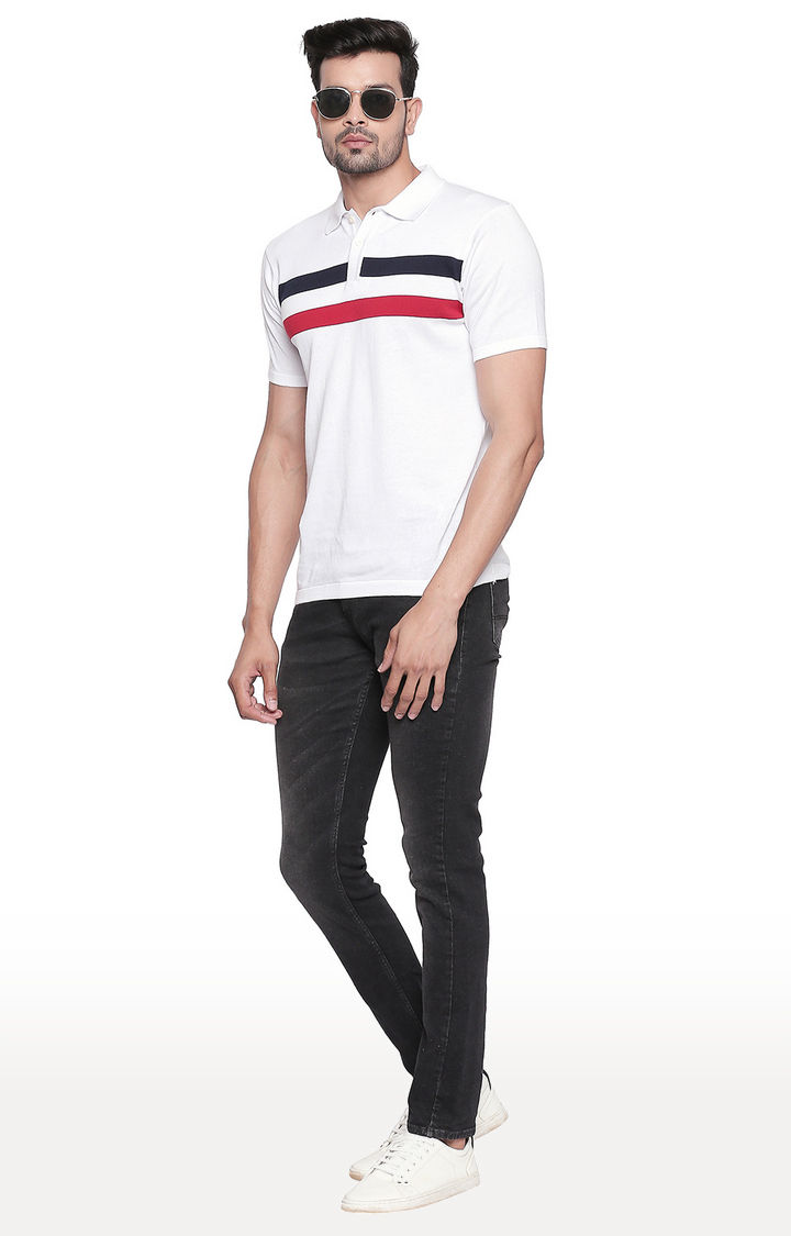 Carbon Black Solid Straight Fit Jeans