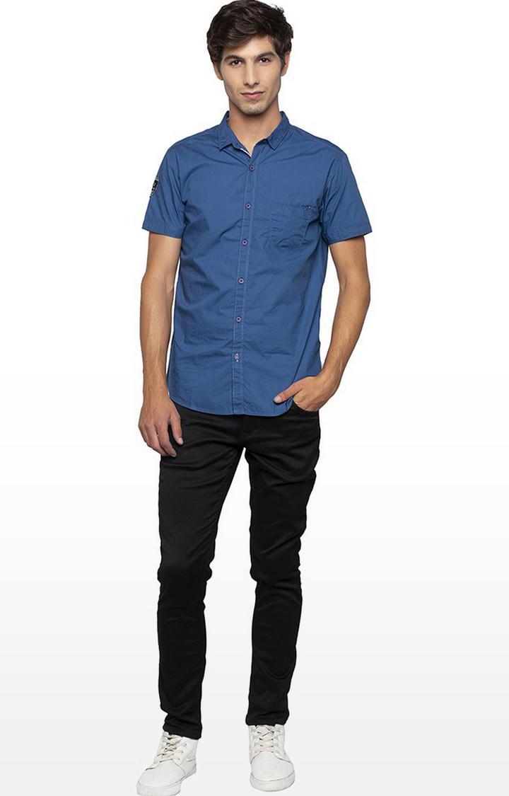 Spykar Black Solid Ultra Slim Fit Jeans