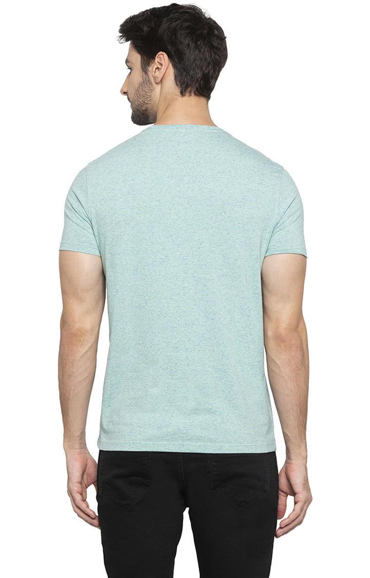 Mint Green Printed T-Shirt