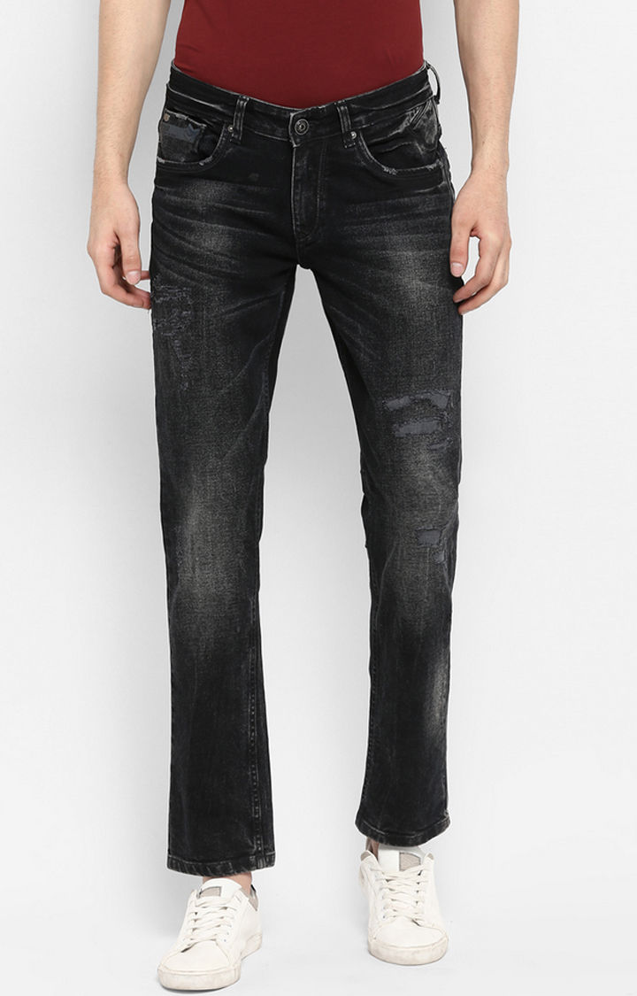 Black Ripped Skinny Fit Jeans