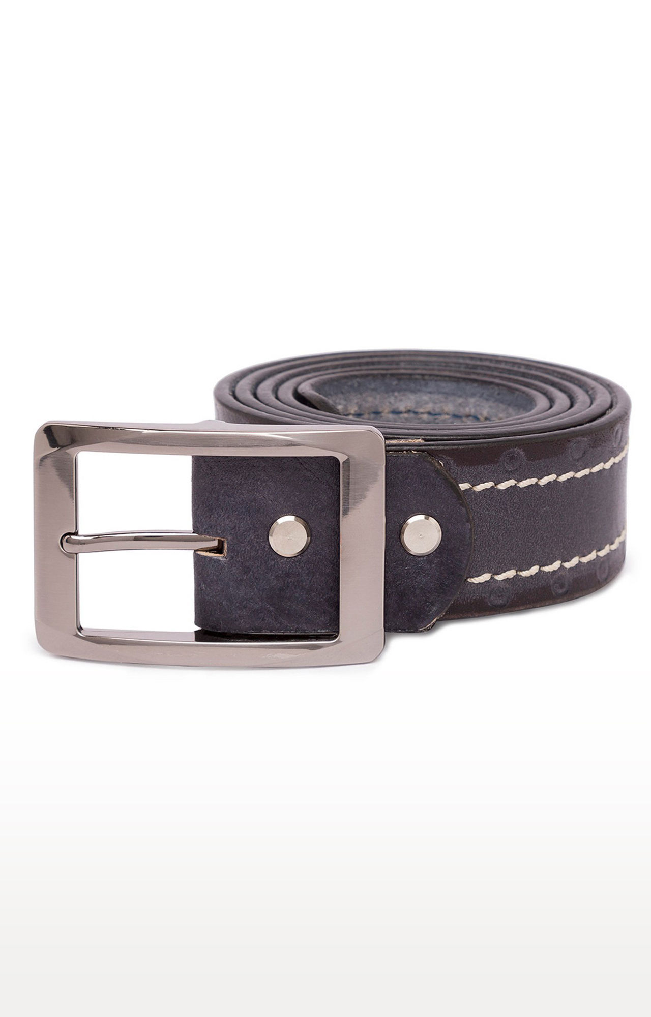 Grey Leather Belts