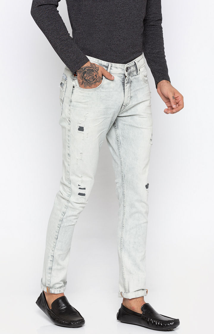 Ash Ripped Skinny Fit Jeans