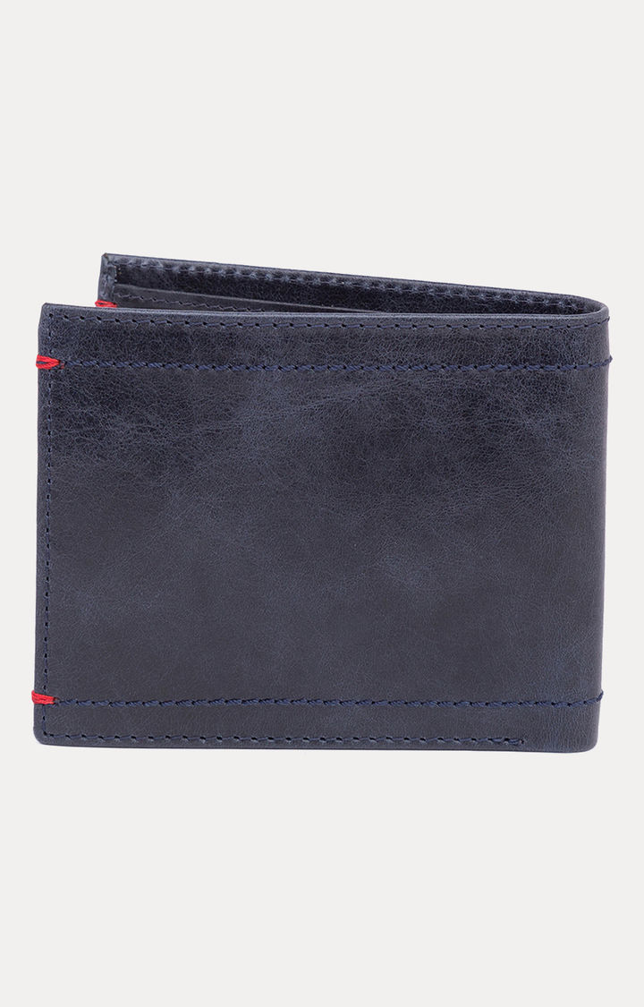 Navy Leather Wallets