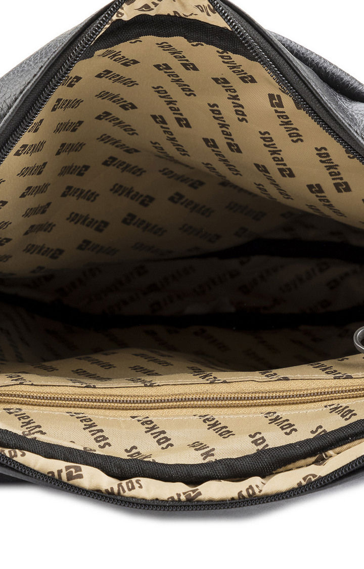 Black Messenger Bag