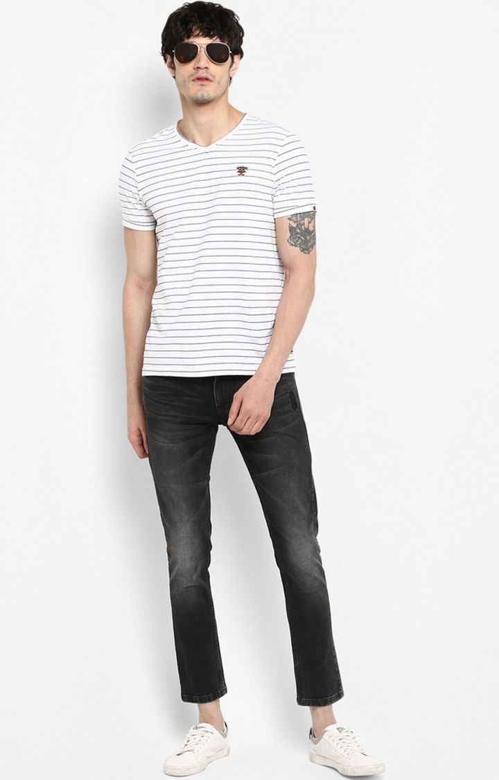Black Solid Super Skinny Fit Jeans