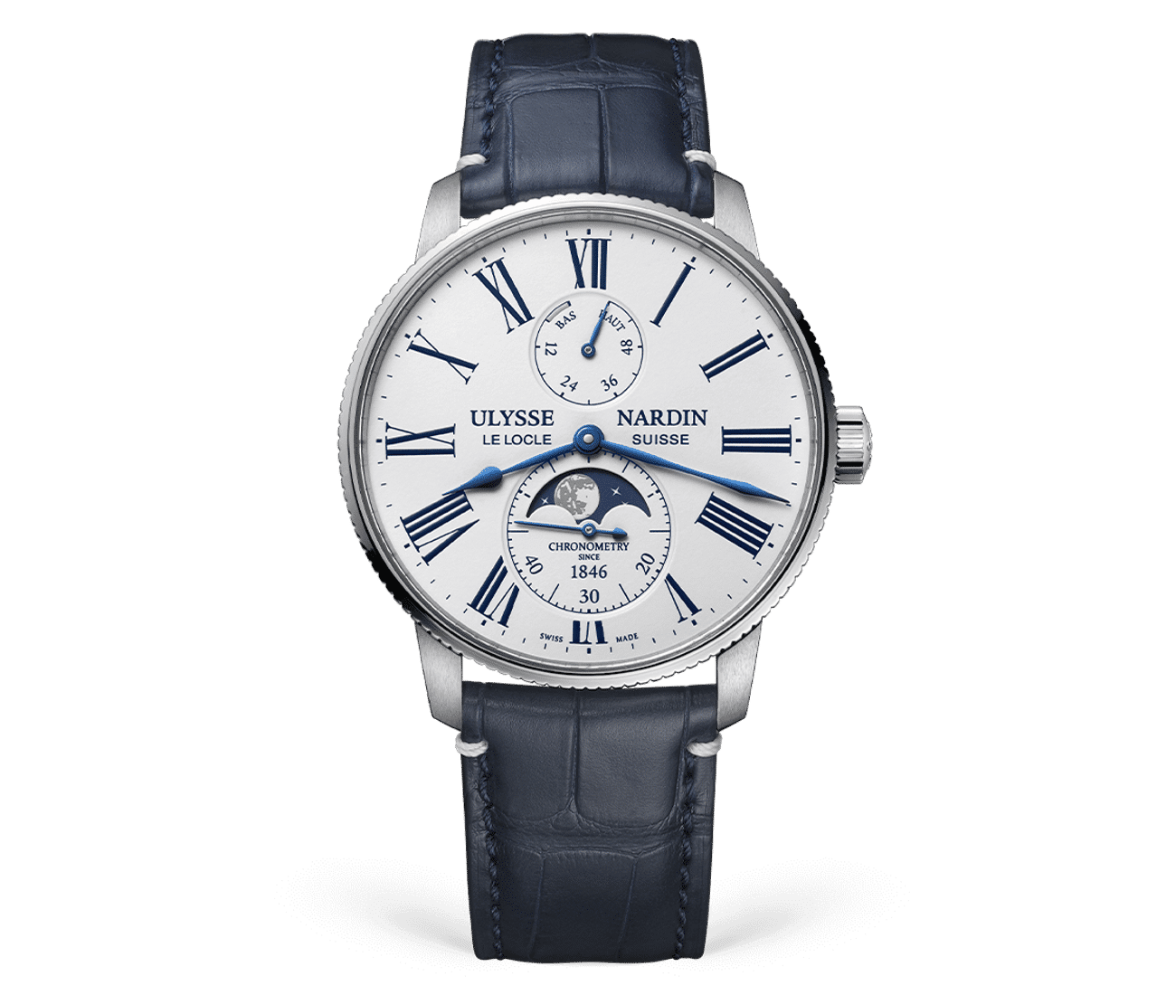Torpilleur Moonphase White