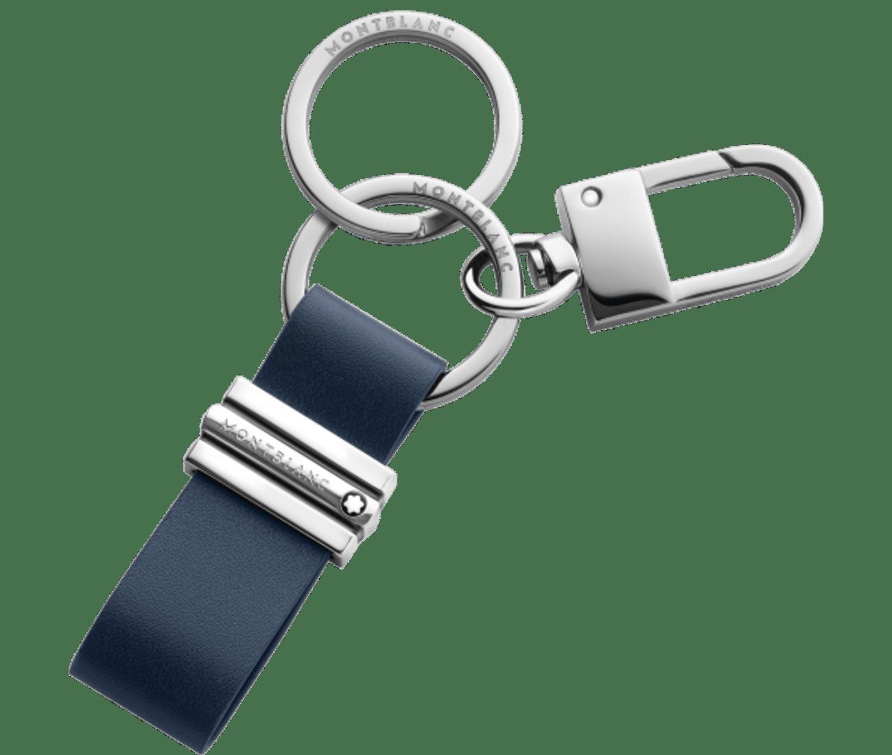 Meisterstuck Key Fob Loop with Hook Navy Blue