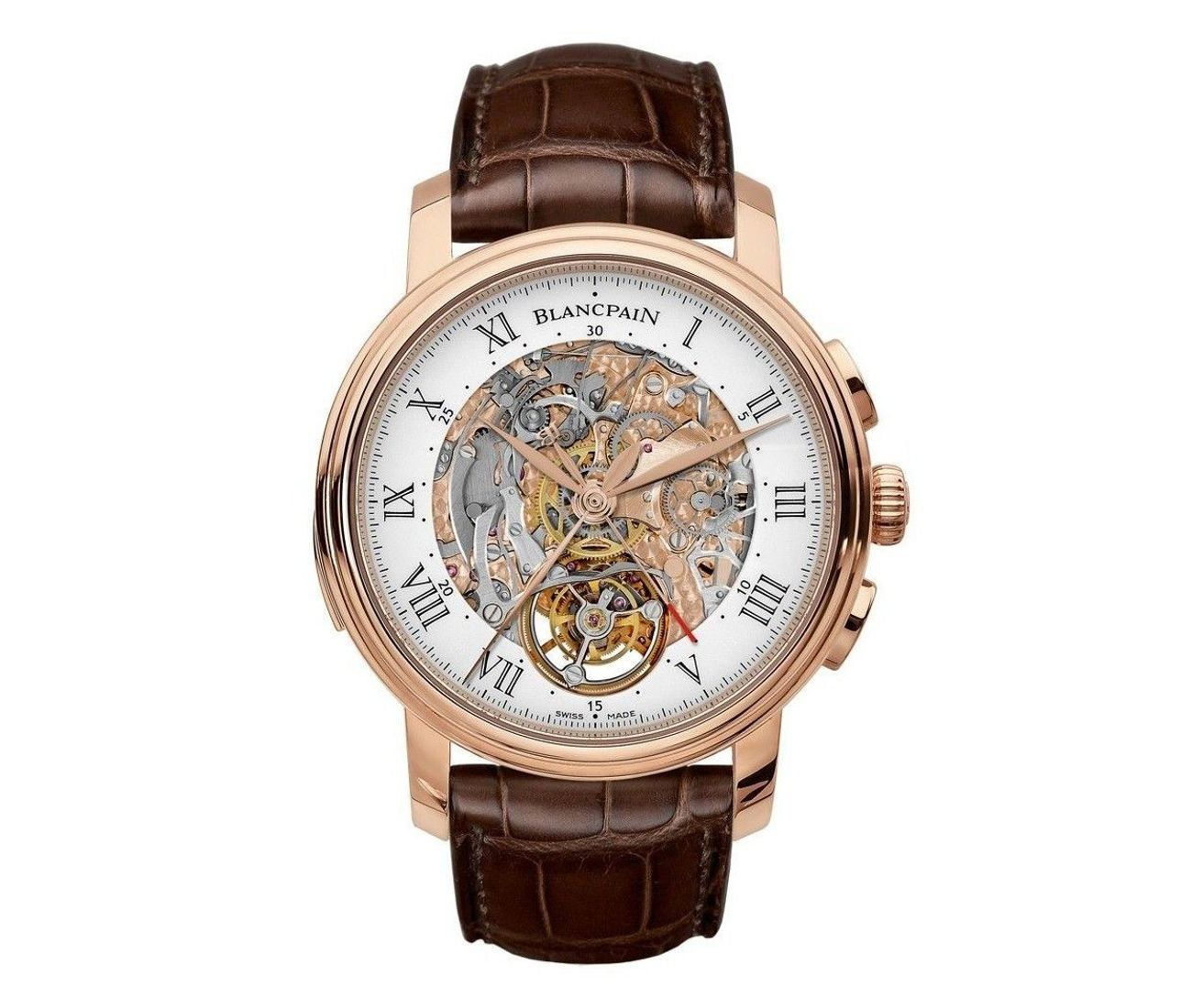 Carrousel Repetition Minutes Chronographe Flyback