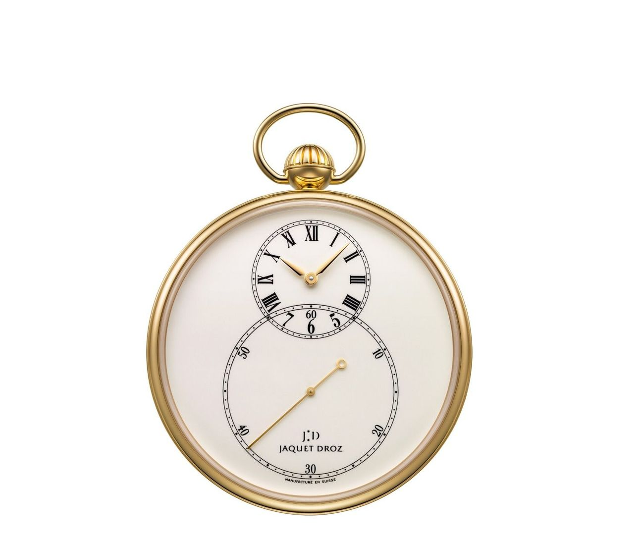 The Pocket Watch Ivory Enamel