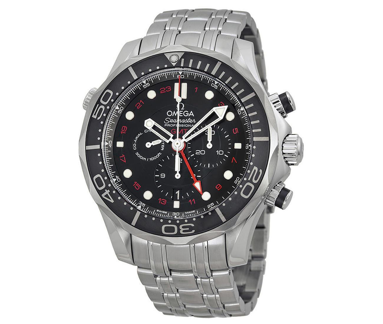 Diver 300 M Co-axial GMT Chronograph