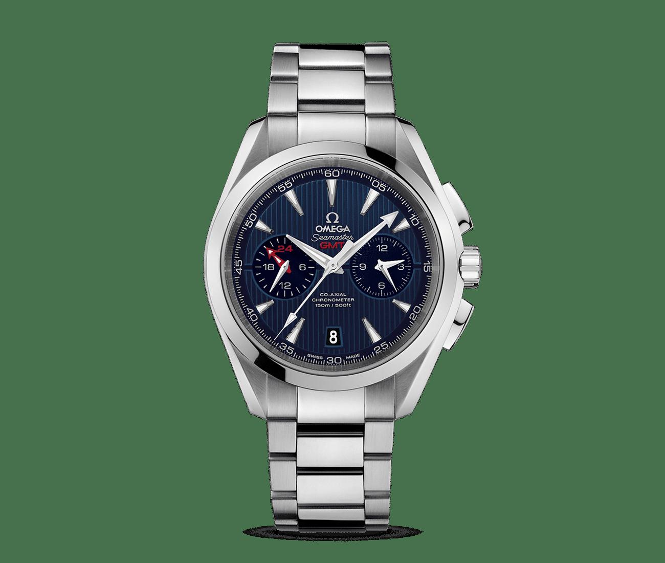 Aqua Terra 150 M Omega Co-axial Gmt Chronograph
