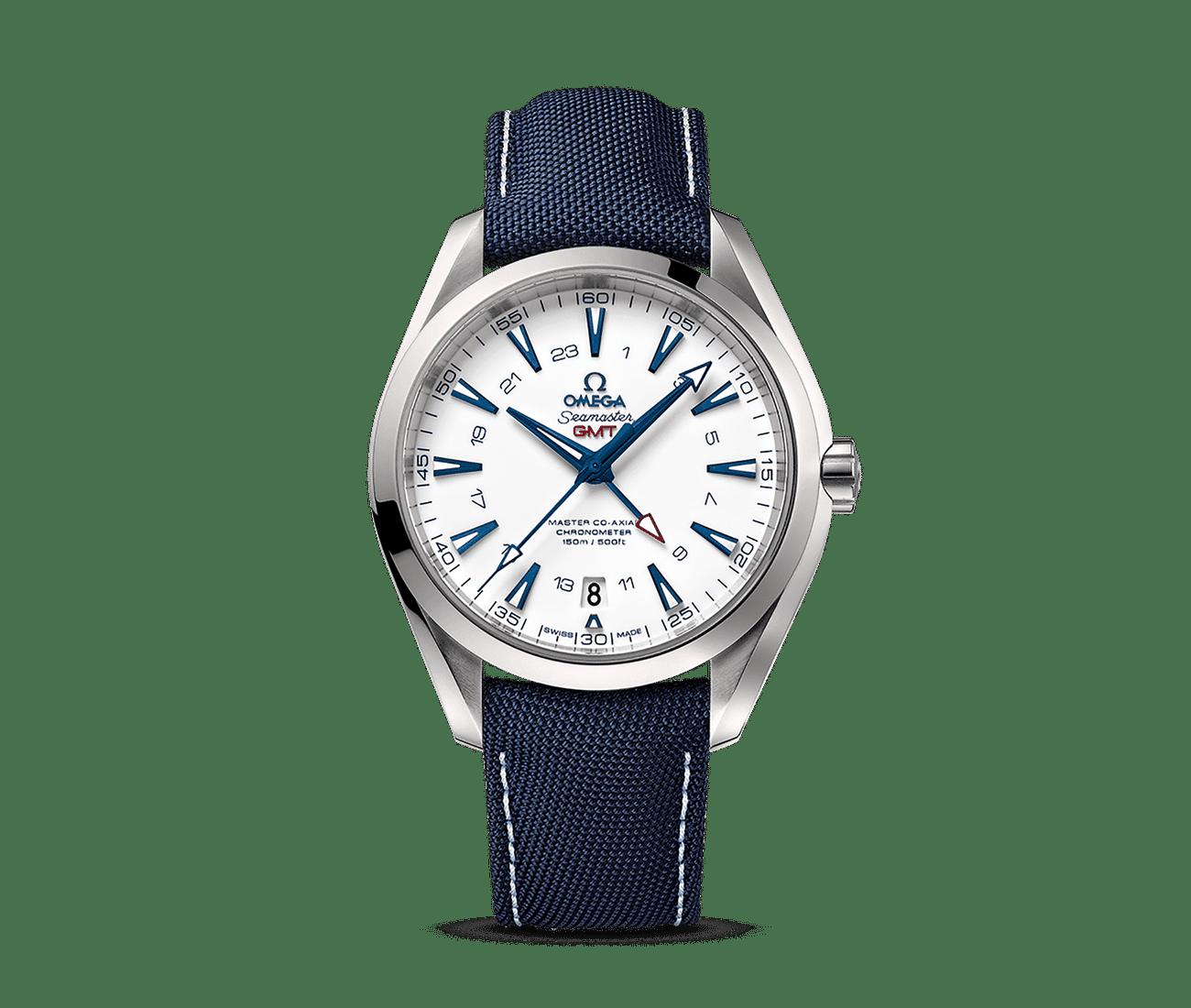 Aqua Terra 150M Omega Master Co-Axial GMT