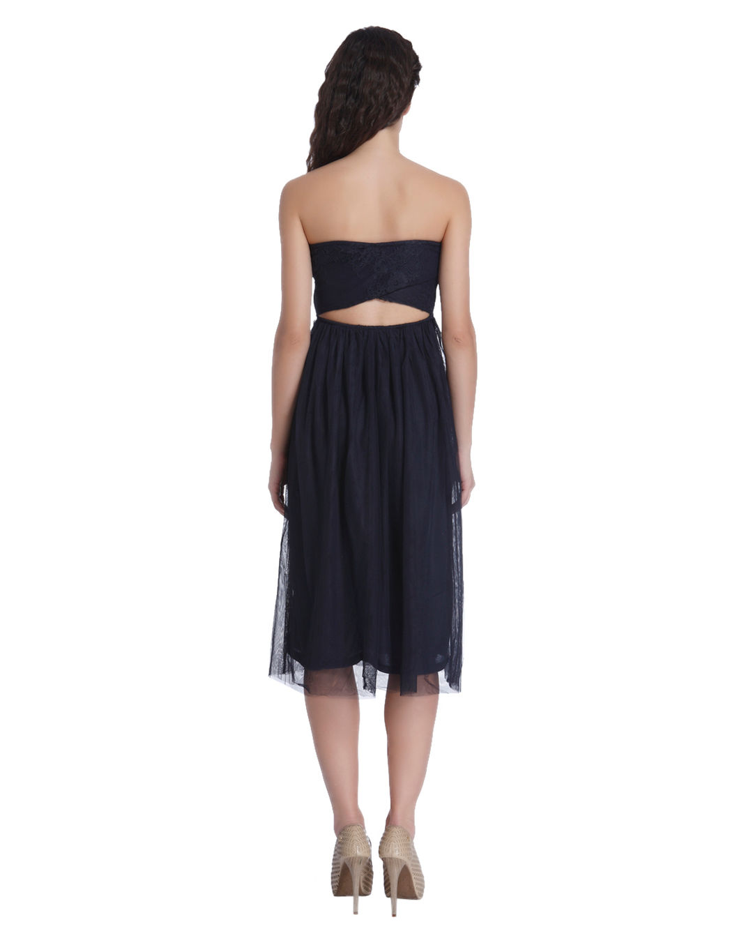 172c0a1298ba9 Buy ONLY Navy Blue Tube Lace DressOnline | ONLY
