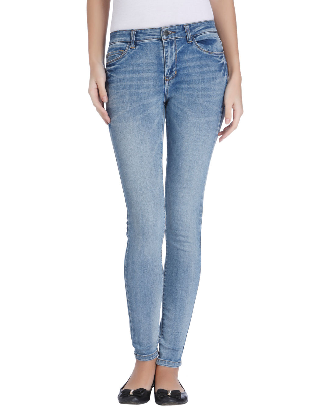 online store 2dea6 5f404 Buy ONLY Light Blue Skinny Jeans Online | ONLY