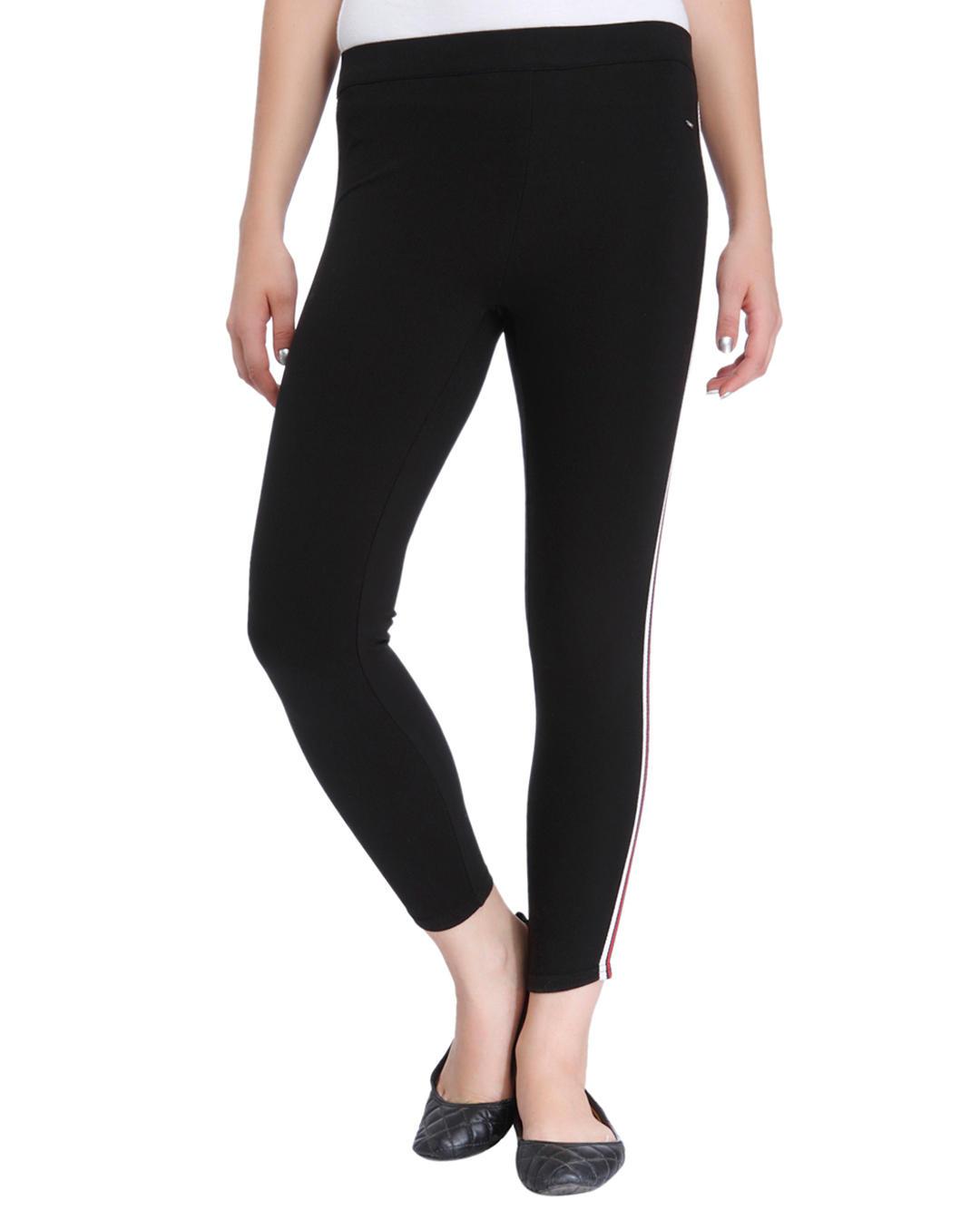 1ec50c4b3 Buy ONLY Black Tape Detail Pants Online | ONLY