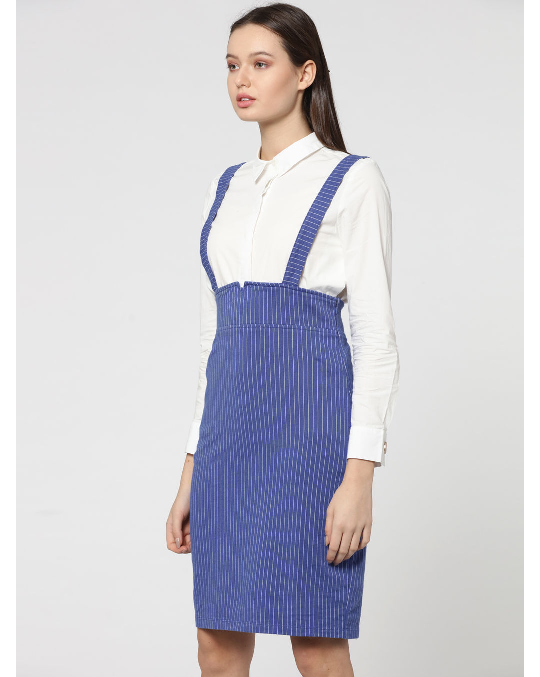 greatvarieties replicas new high quality Buy ONLY Blue Striped Dungaree Dress Online   Vero Moda