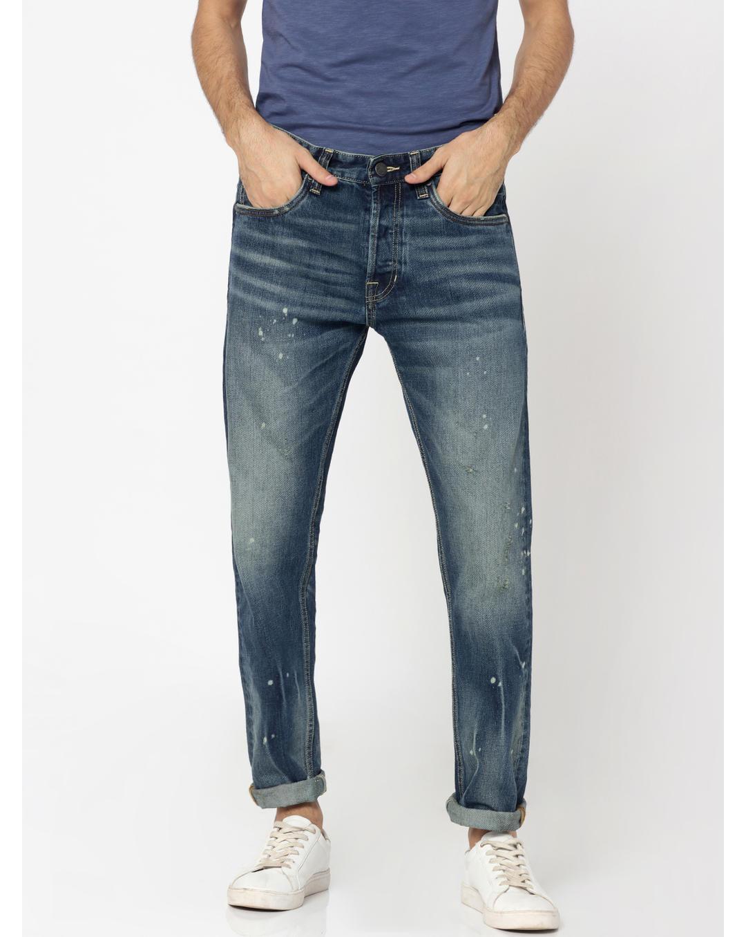 good looking first look sale online Buy Jack & Jones Dark Blue Erik Anti Fit Jeans Online | Jack ...