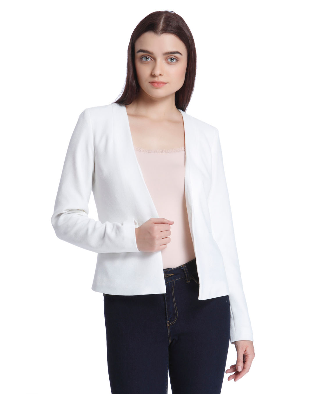 9233cabdf0 Buy Vero Moda White Cropped Blazer Online   Vero Moda