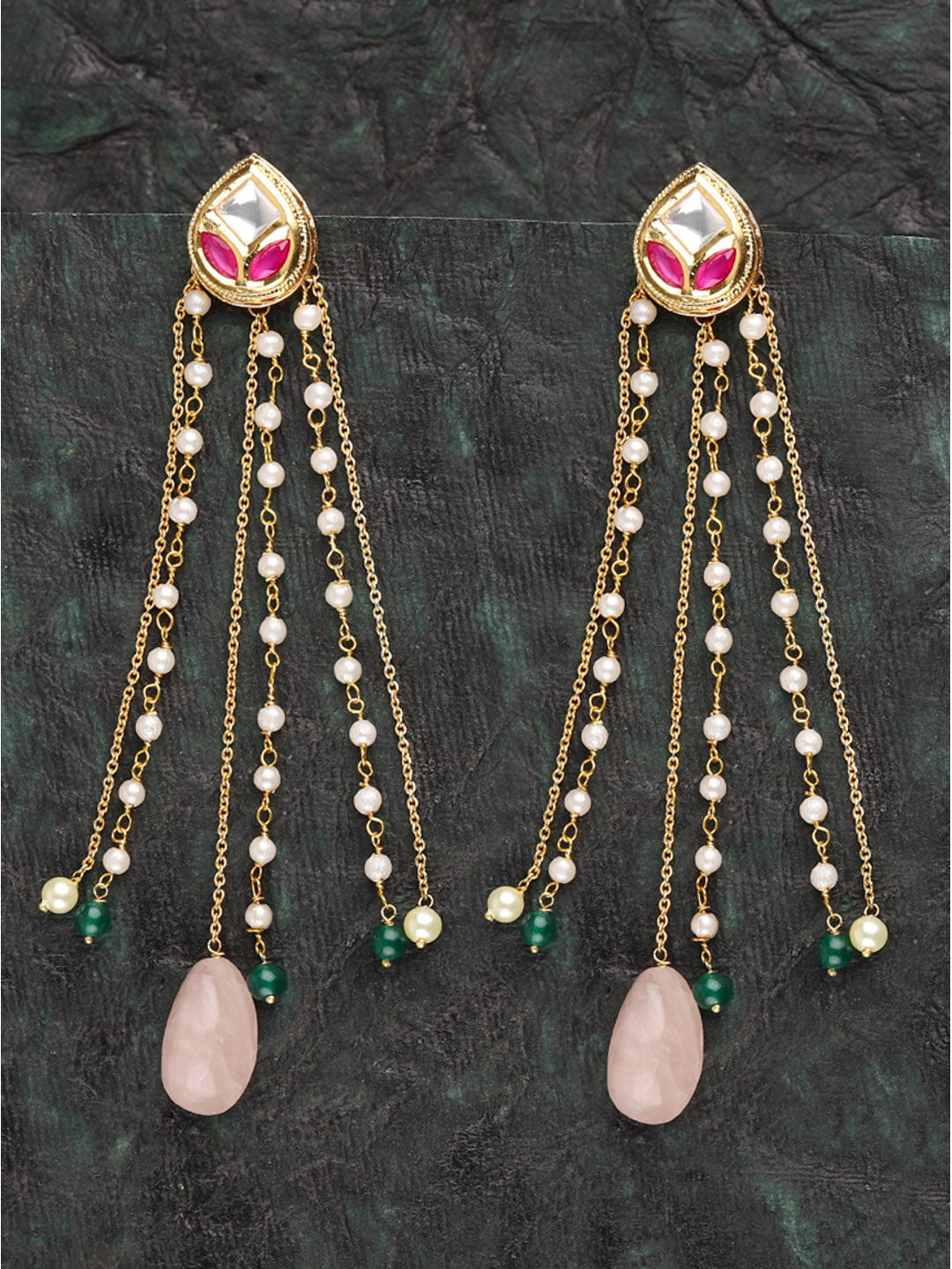 Buy Pink Party Earrings Online at Best Prices - Jewellery ...