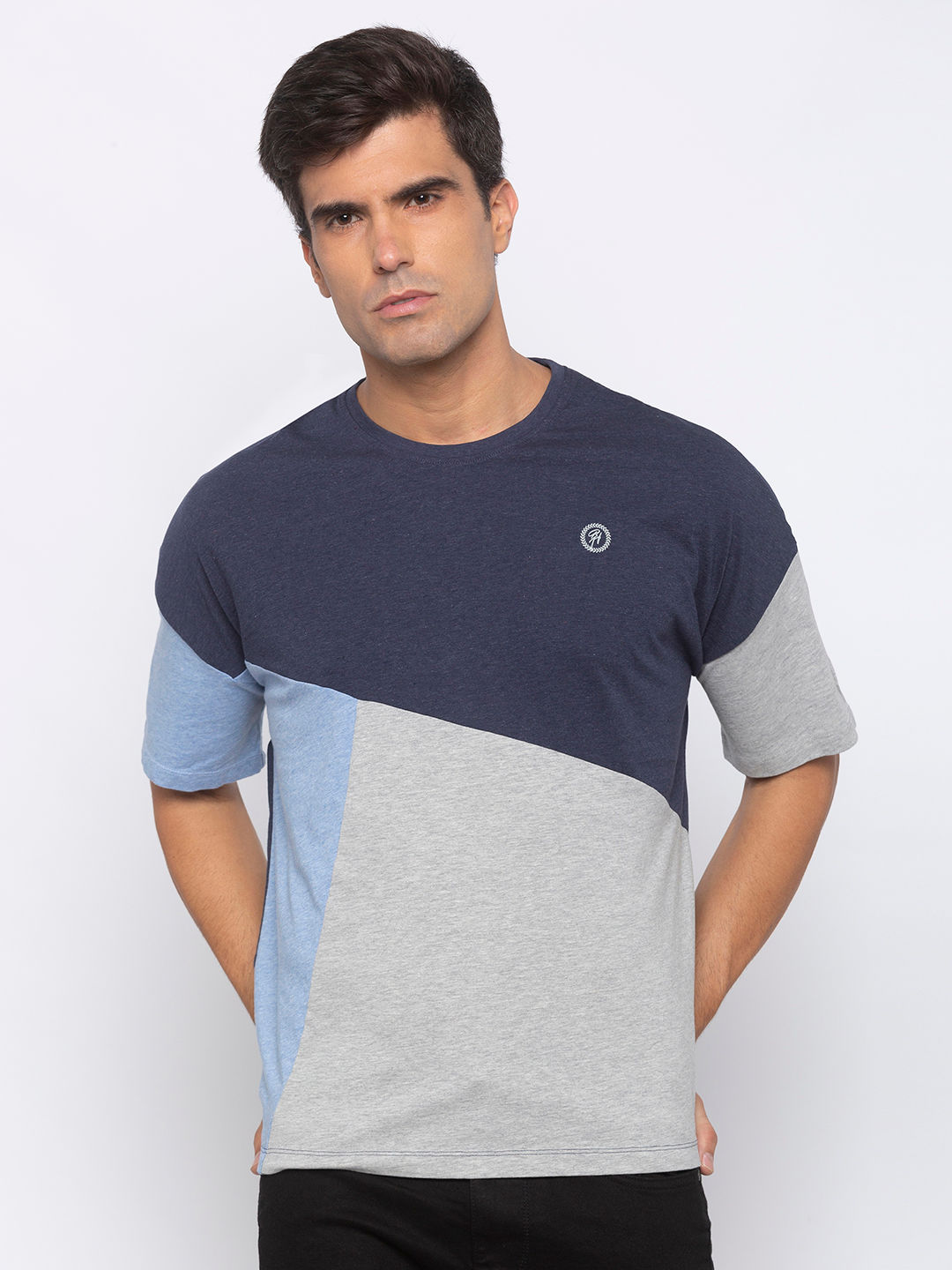 Mens short sleeve crew neck with HD print