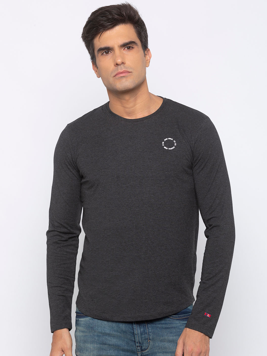 Mens Long Sleeve Crew Neck with HD print