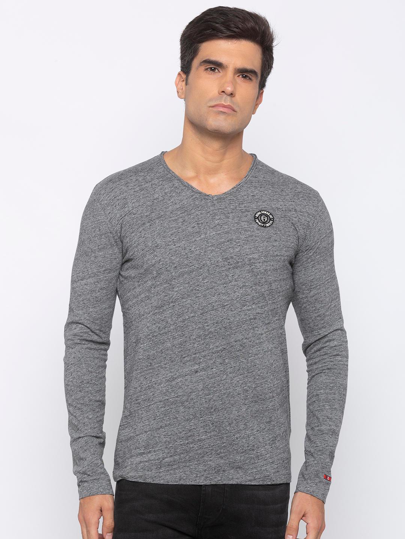Mens Long Sleeve Crew Neck T-shirt