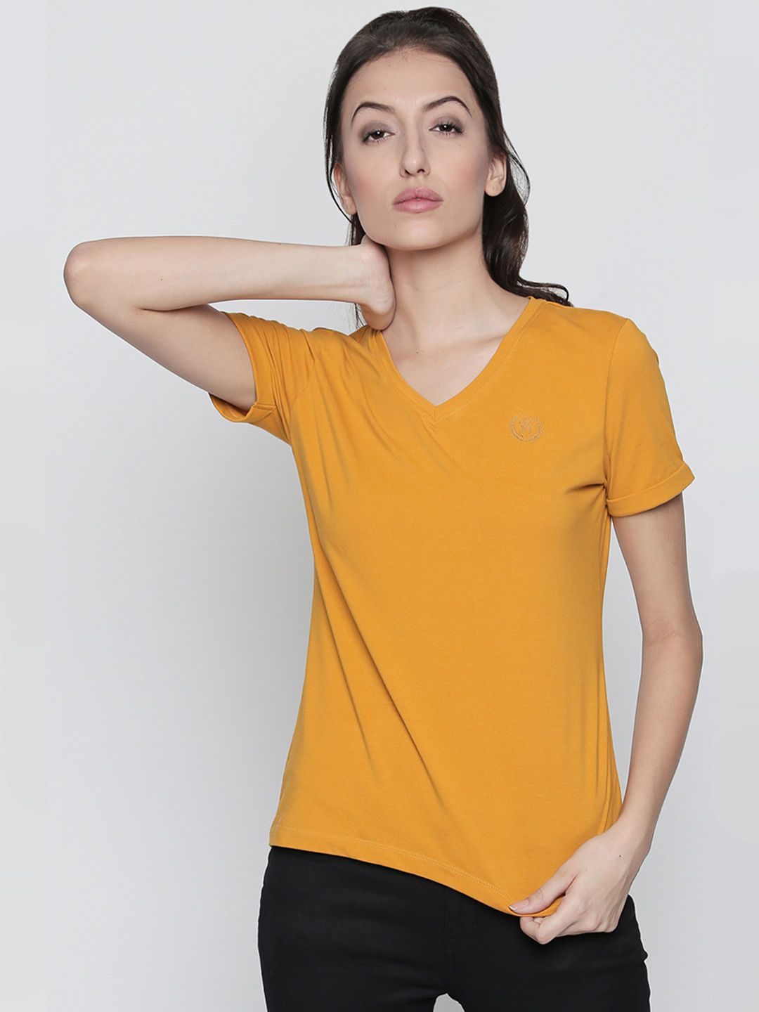 GOLD SOLID T-SHIRT
