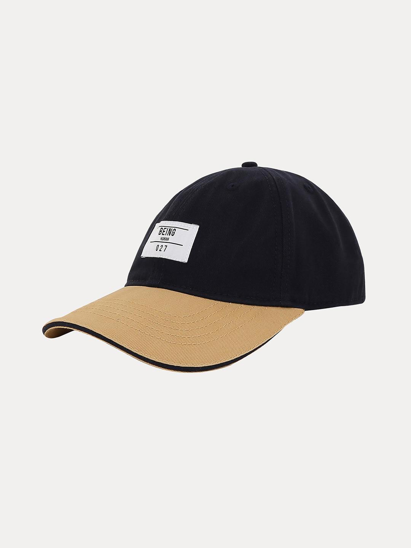 NAVY SOLID BASEBALL CAP