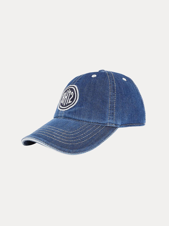 BLUE PRINTED BASEBALL CAP
