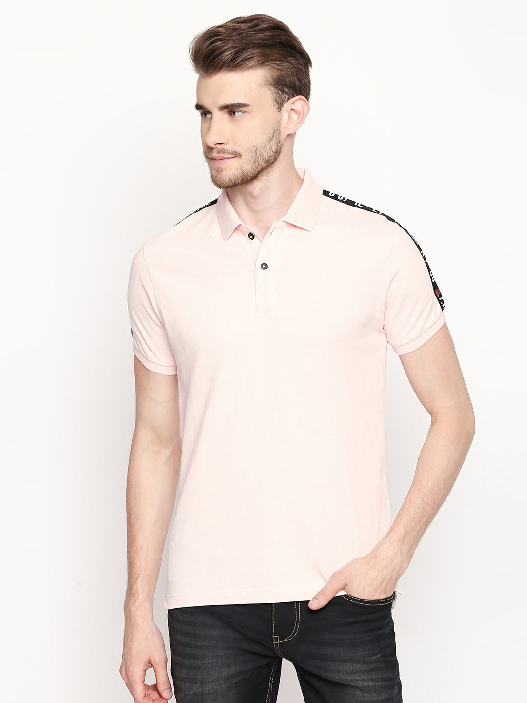 WATER PINK SOLID T-SHIRT