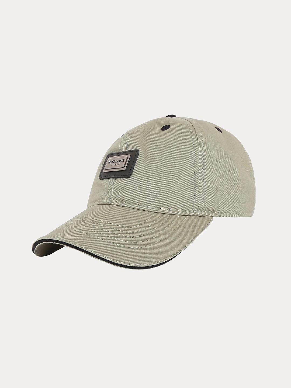 OLIVE SOLID BASEBALL CAP
