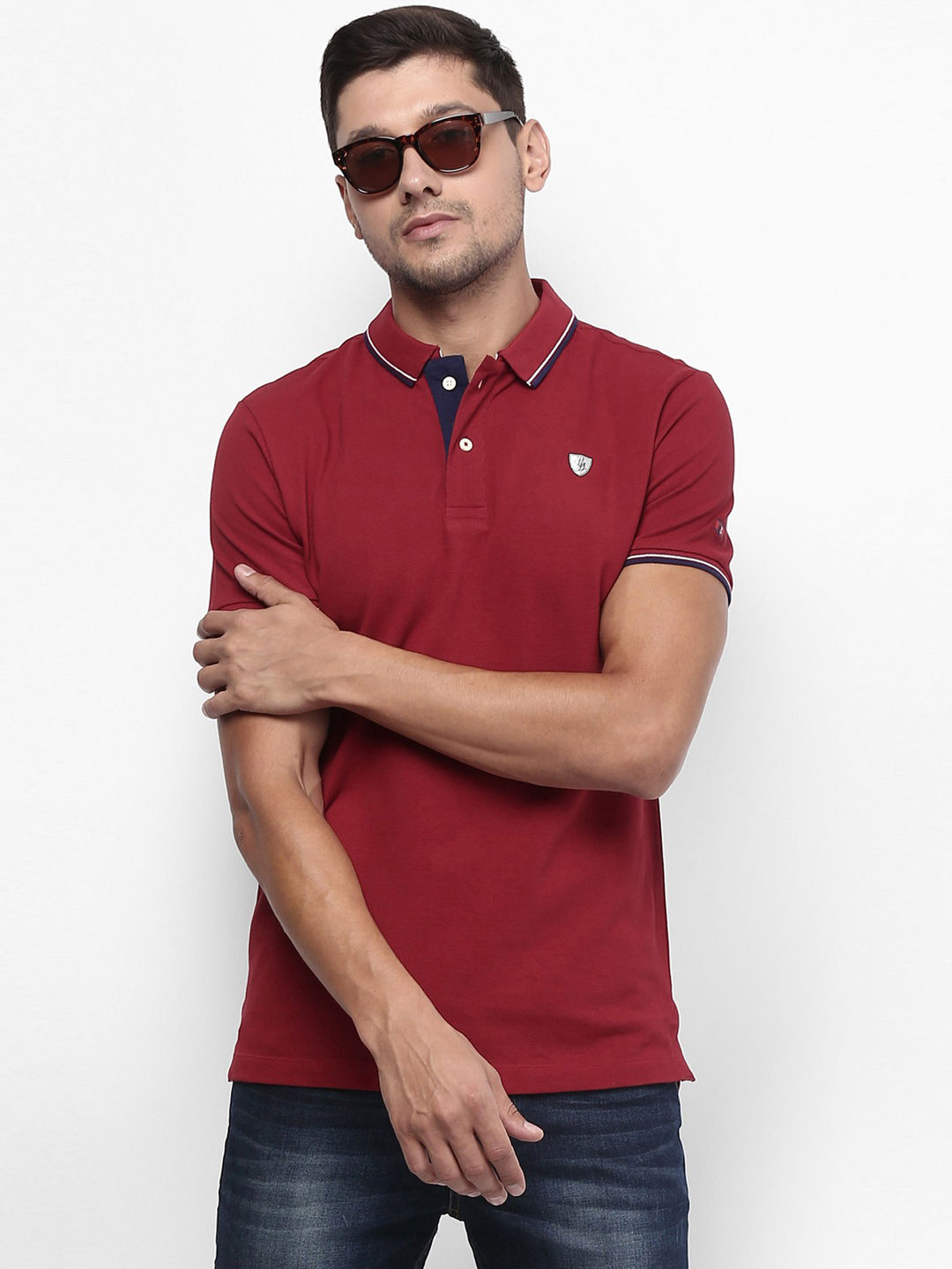 BRICK SOLID POLO T-SHIRT