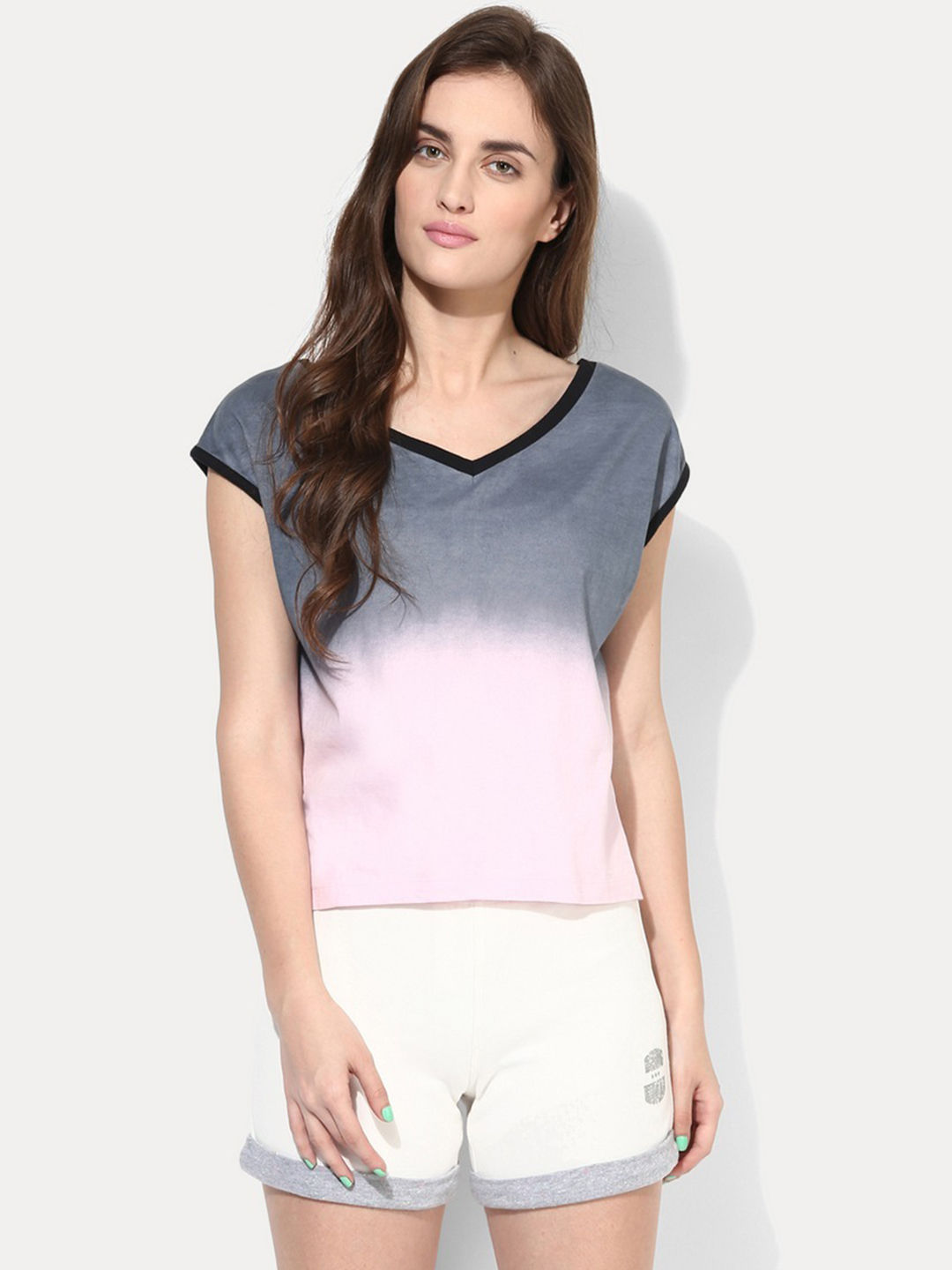 SHELL PINK SOLID T-SHIRT