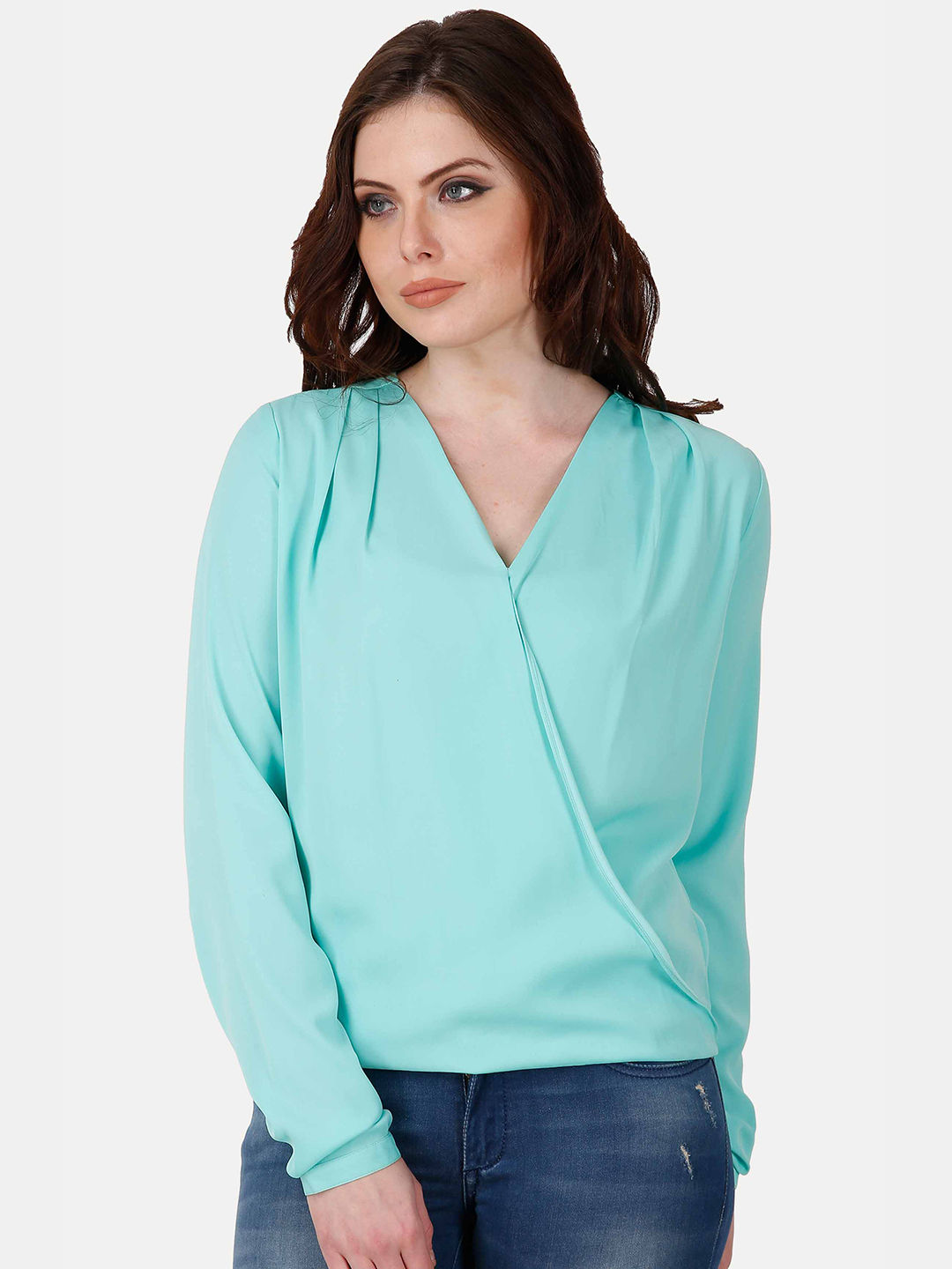 PEACOCK GREEN TOP