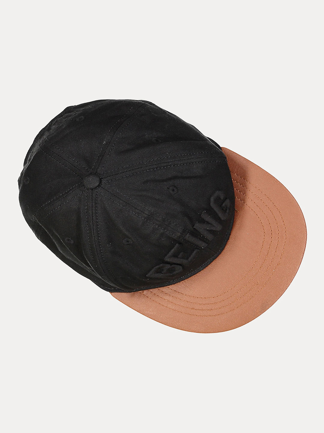 BLACK SOLID BASEBALL CAP