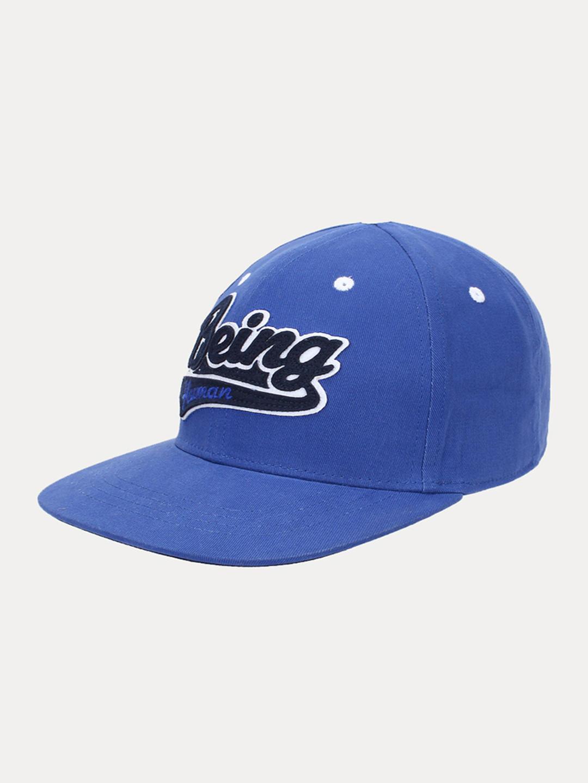 ELECTRIC BLUE PRINTED BASEBALL CAP